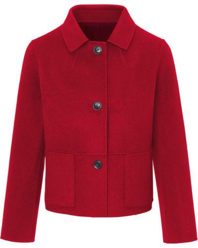 Пальто - бордовое Basler