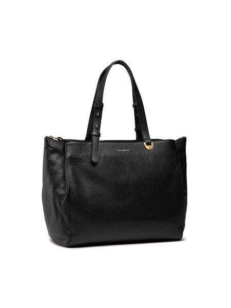 Czarna torba na ramię Coccinelle