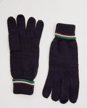 Текстильные синие перчатки Aeronautica Militare