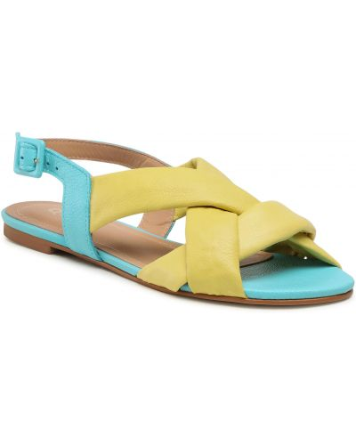 Żółte sandały Quazi