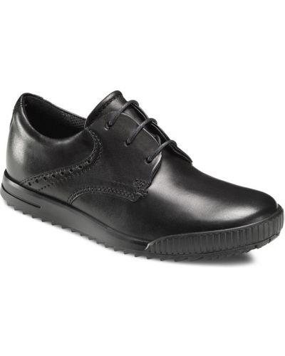 Туфли черные спортивный Ecco