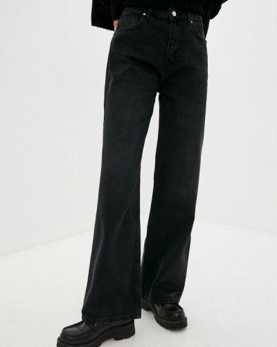 Широкие джинсы - черные Trendyol