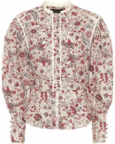 Хлопковая блузка - бежевая Isabel Marant