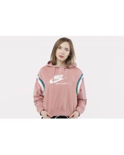 Pulower - różowy Nike