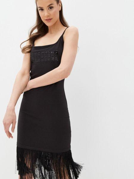 Платье платье-сарафан черное Puma