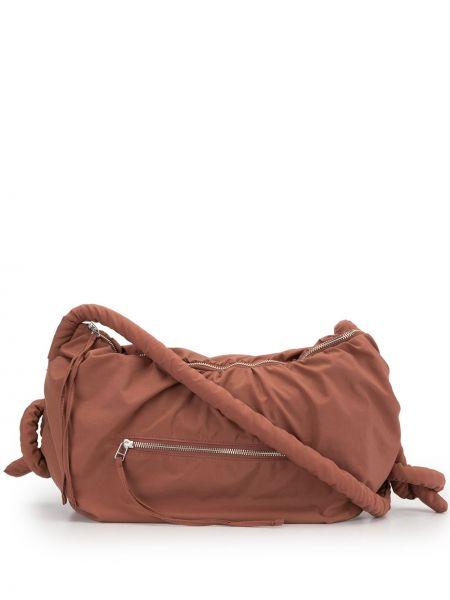 Красная сумка на плечо круглая G.v.g.v.