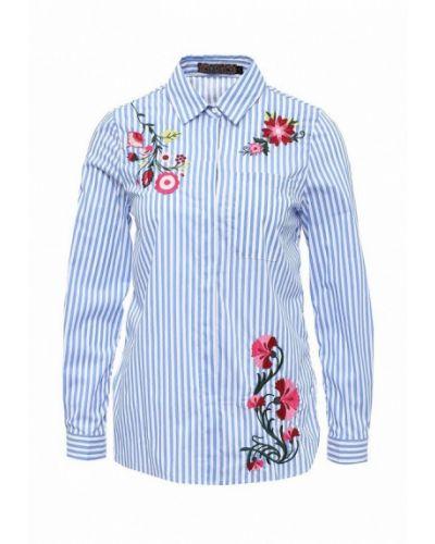 Синяя рубашка Qed London
