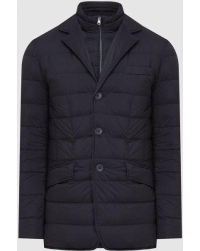 Пуховая куртка - черная Herno