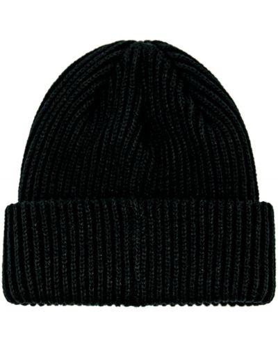 Вязаная шапка бини - черная Stadium Goods