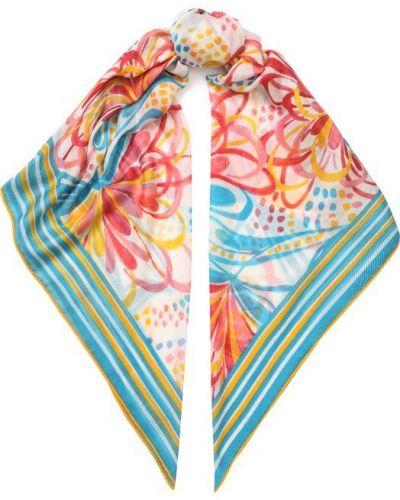 Бирюзовый шарф узкий Loro Piana