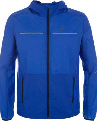 Куртка с капюшоном спортивная с манжетами Asics