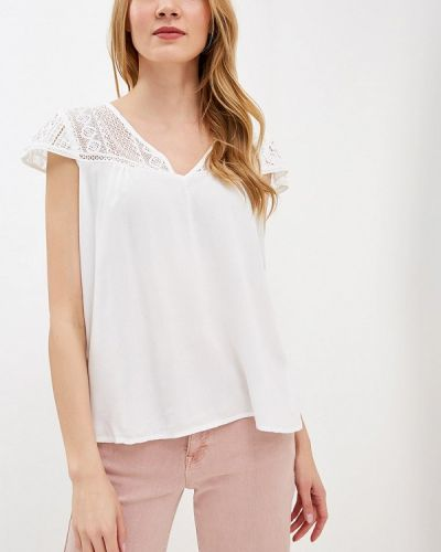Блузка с коротким рукавом белая индийский Bruebeck