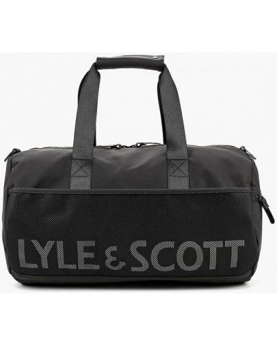 Спортивная сумка из полиэстера Lyle & Scott