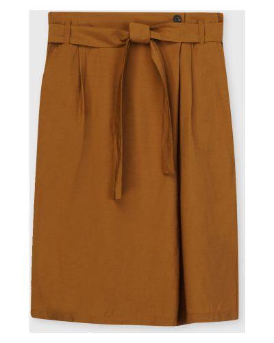 С завышенной талией прямая юбка карандаш на резинке Ostin
