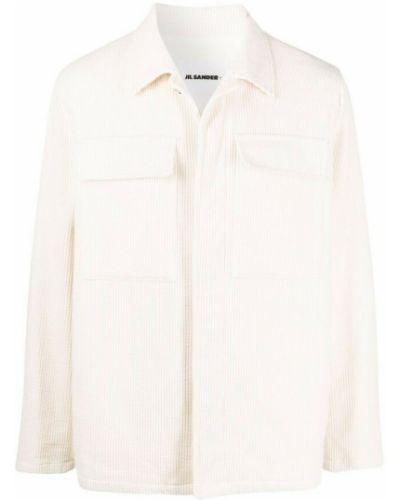 Beżowa koszula Jil Sander