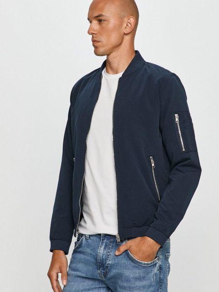 Синяя куртка с карманами с декоративной отделкой Jack & Jones