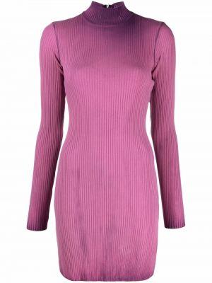 Платье макси с длинными рукавами - фиолетовое Cotton Citizen