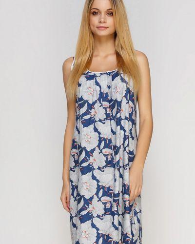 Платье осеннее синее Cyberjammies