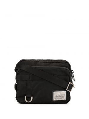 Черная нейлоновая маленькая сумка Makavelic