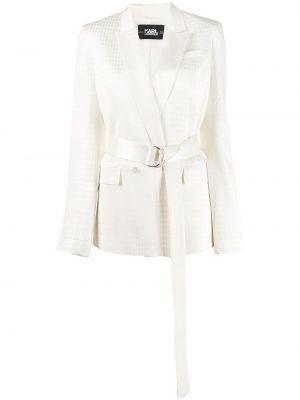 Куртка на пуговицах белая Karl Lagerfeld