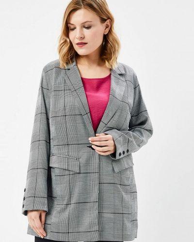 Серый пиджак Studio Untold