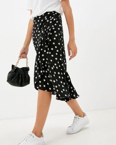 Черная зимняя юбка Zibi London