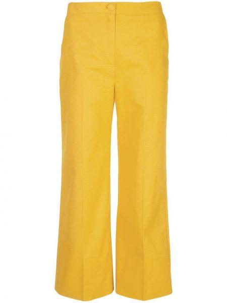 Укороченные брюки с поясом Alexa Chung
