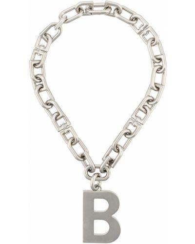 Ожерелье из серебра серебряный Balenciaga