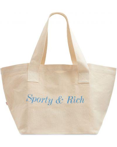 Белая косметичка Sporty And Rich