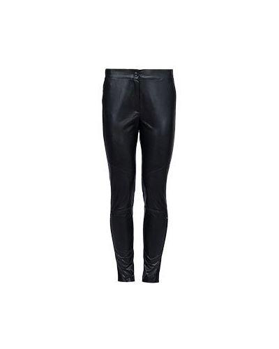 Черные брюки из вискозы Vuall
