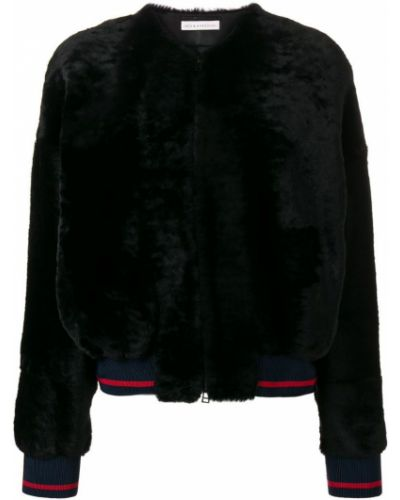 Черная кожаная куртка Inès & Maréchal