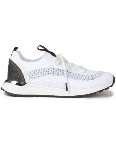 Белые кожаные кроссовки Michael Michael Kors