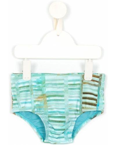 Kąpielówki - niebieskie Lygia & Nanny