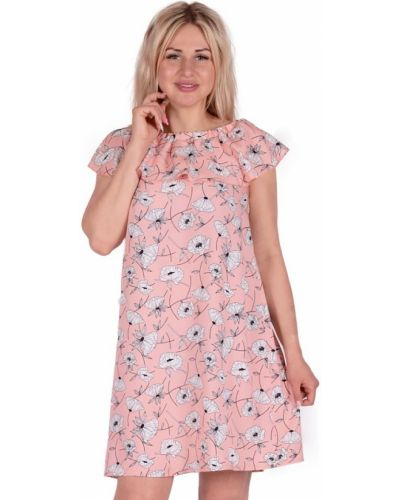 Платье розовое персиковое инсантрик