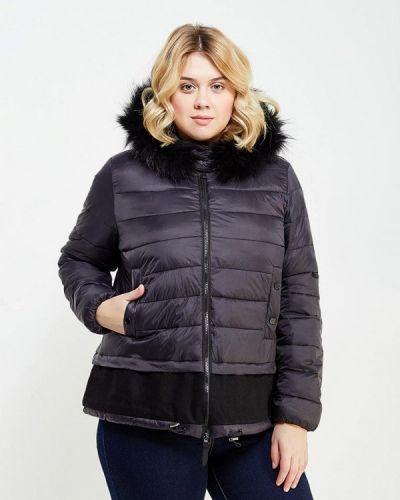 Куртка демисезонная черная Fiorella Rubino