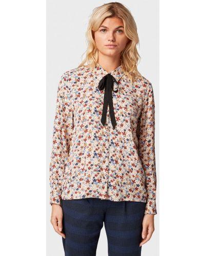 Блузка с длинным рукавом бежевый Tom Tailor Denim