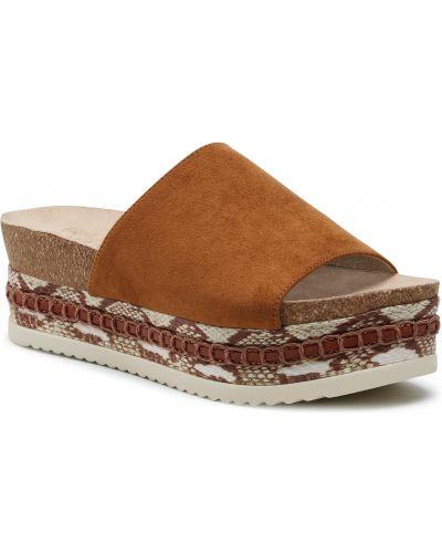 Brązowe sandały Bullboxer