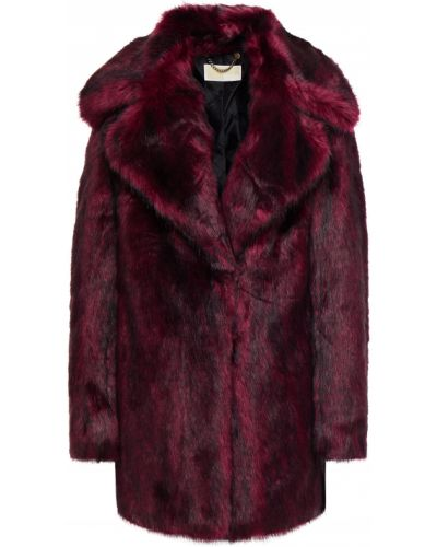Пальто из искусственного меха с карманами на крючках Michael Michael Kors