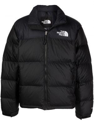 Черная куртка винтажная The North Face