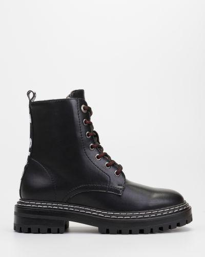 Текстильные повседневные черные ботинки Levi's®