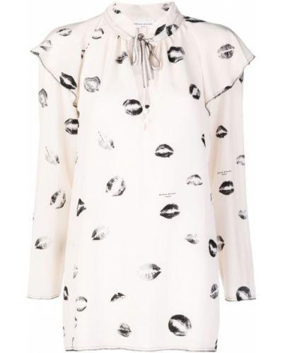 Блузка кружевная розовая Sonia Rykiel