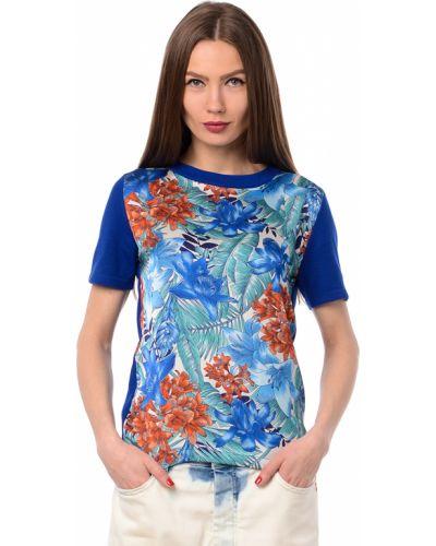 Синяя футбольная футболка Tru Trussardi