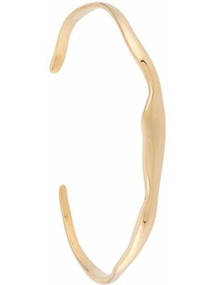 Bransoletka ze złota mankiet szeroki Bar Jewellery