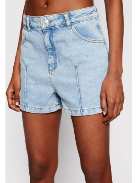 Szorty jeansowe - niebieskie Na-kd