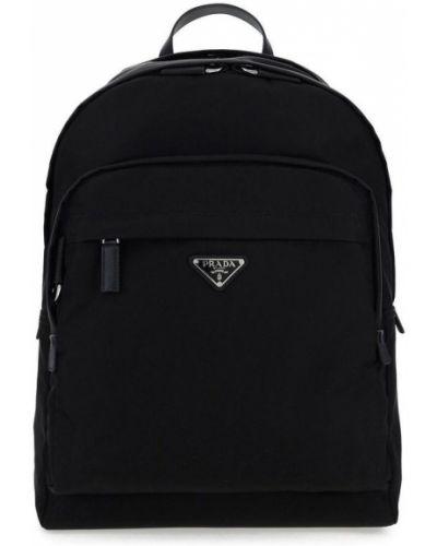 Plecak sportowy - czarny Prada