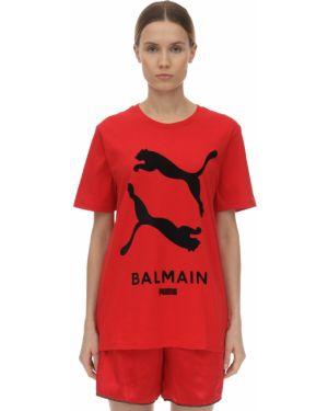 T-shirt z printem Puma X Balmain
