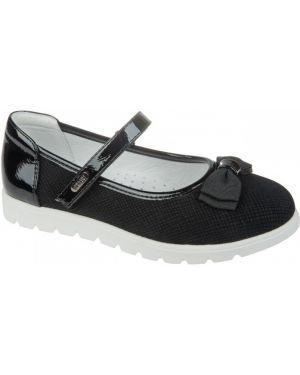 Школьные туфли текстильные белые Mursu