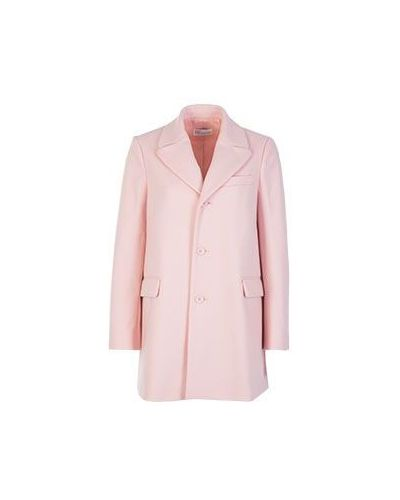 Пальто осеннее шерстяное Valentino Red