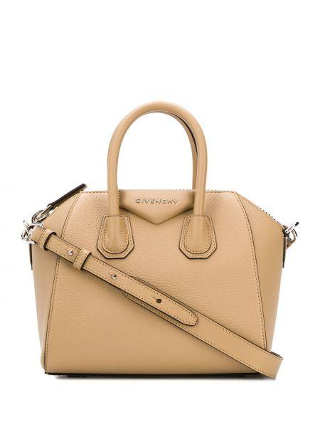 Skórzana torebka mini na ramię Givenchy