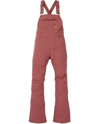 Коричневые брюки софтшелл сноубордические Burton